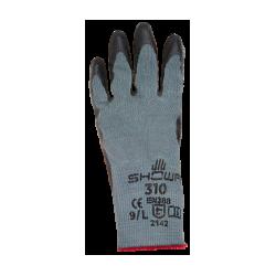 Schutzhandschuhe Gr. 10/XL  Showa310 schwarz_1307